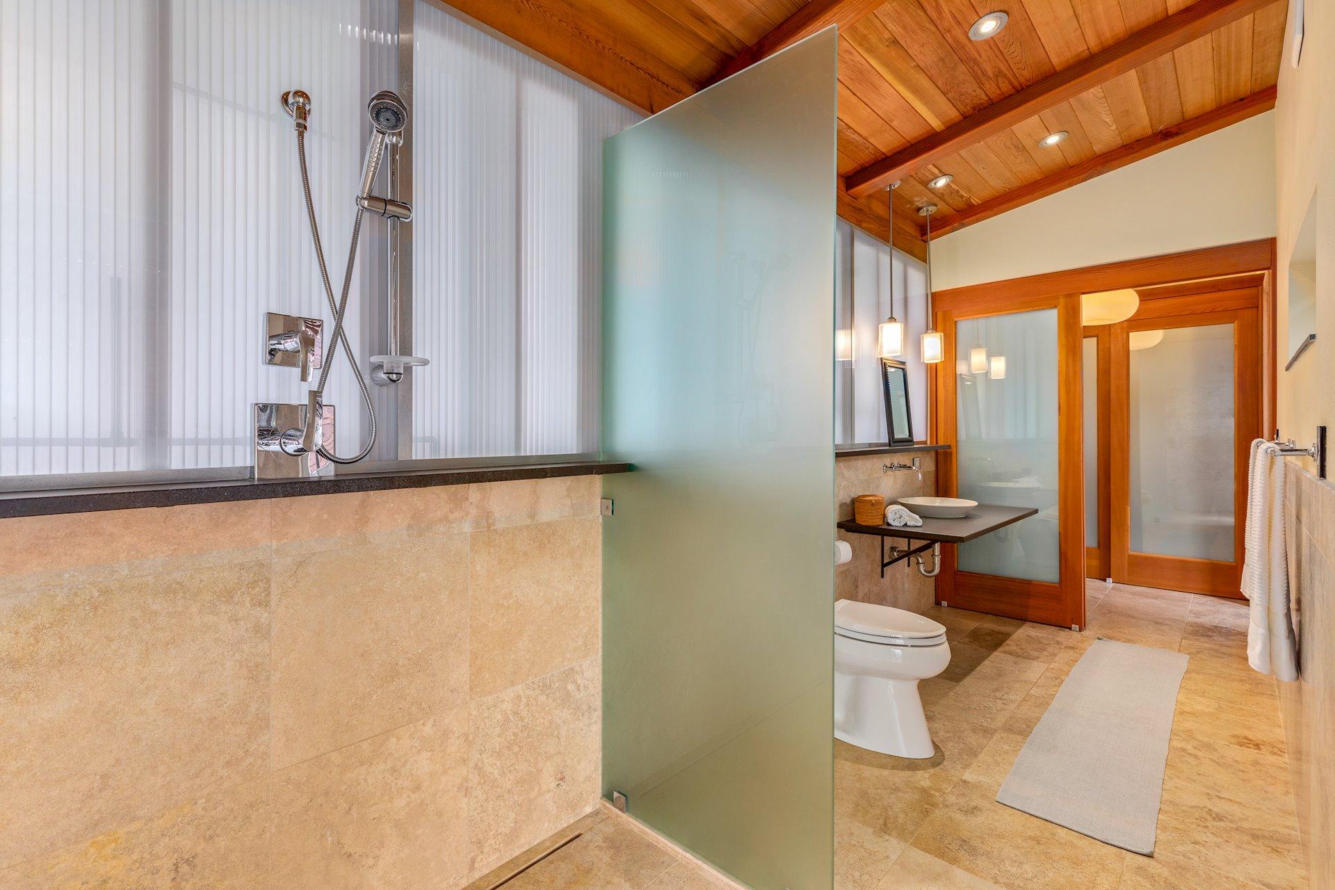 Master bathroom/wetroom