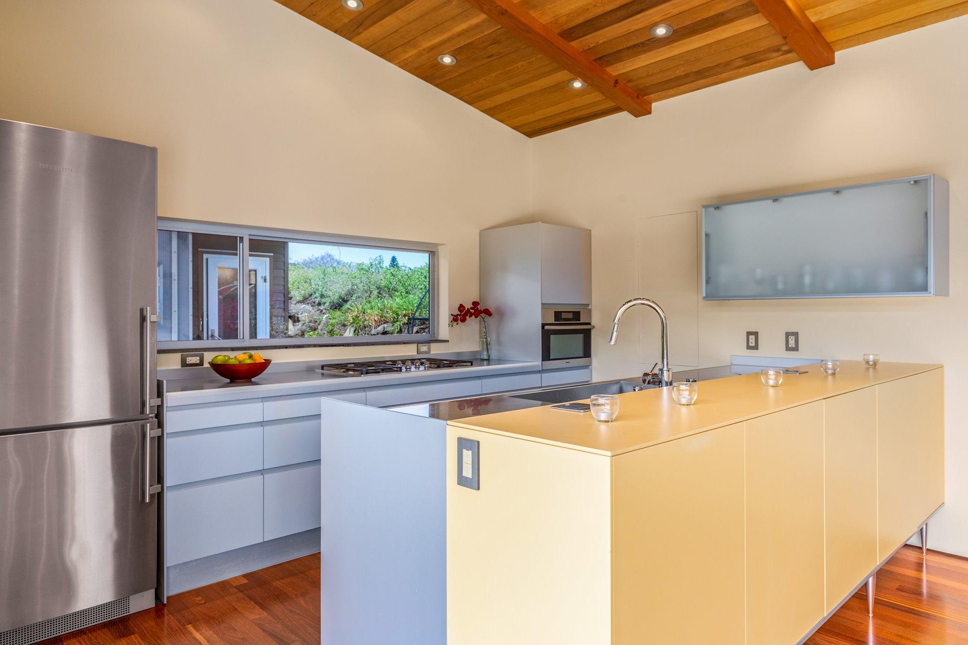 Modern kitchen with Valcucine cabinets