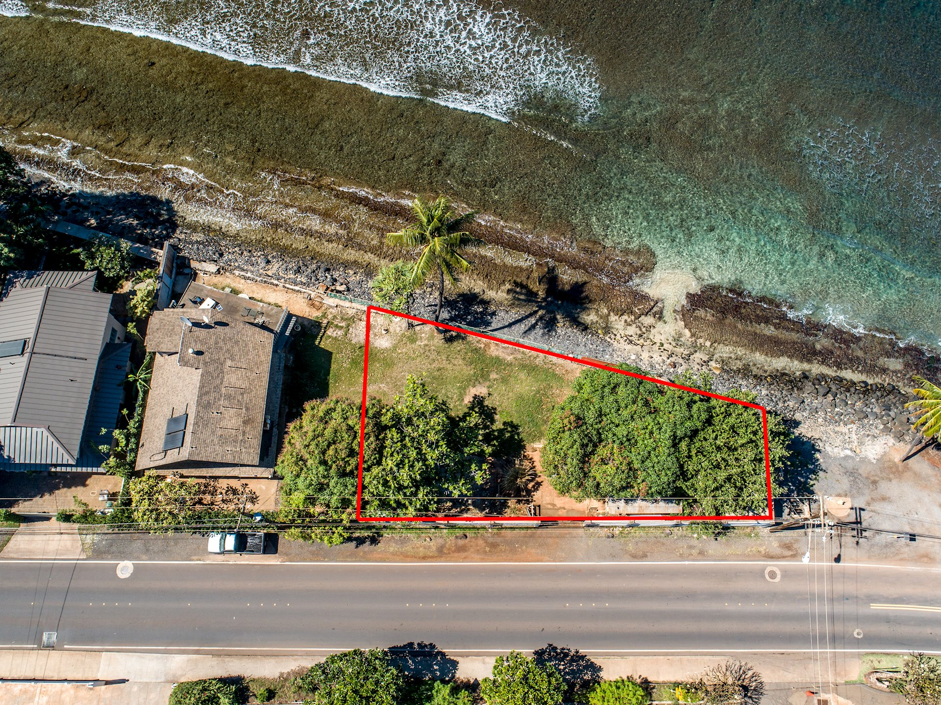 Stunning Ocean Front property with over 120ft****(confirm) of ocean frontage. Buyer and Buyer's agent to do their own due diligence. Actual property may differ from County records. Seller is also selling adjacent 1441 Front St parcel which is 2,700+ sq ft (MLS#381765).