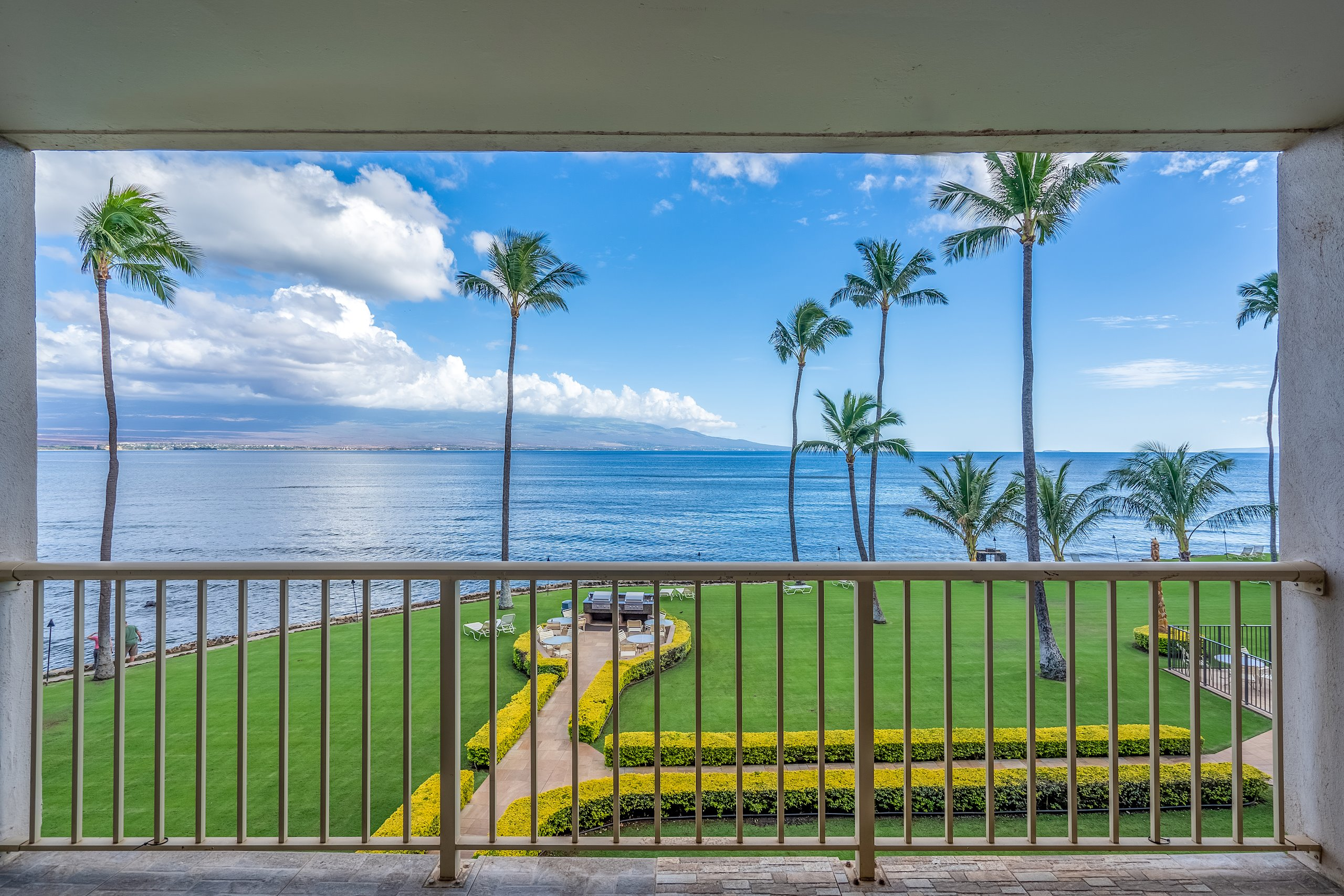 Located in highly sought after Maalaea Kai, this condo offers a rare opportunity to own your perfect oceanfront home or a highly sought after vacation rental. Enjoy seasonal whale-watching from the lanai or take in the surfers along with Maalaea Pipeline as you enjoy a morning coffee or a sunset cocktail. This condo was totally remodeled in 2014, down to the studs with upgrades galore. This property has not been in an active vacation rental program and is in pristine condition. Vacant and easy to show, so call your favorite REALTOR today to schedule a showing.