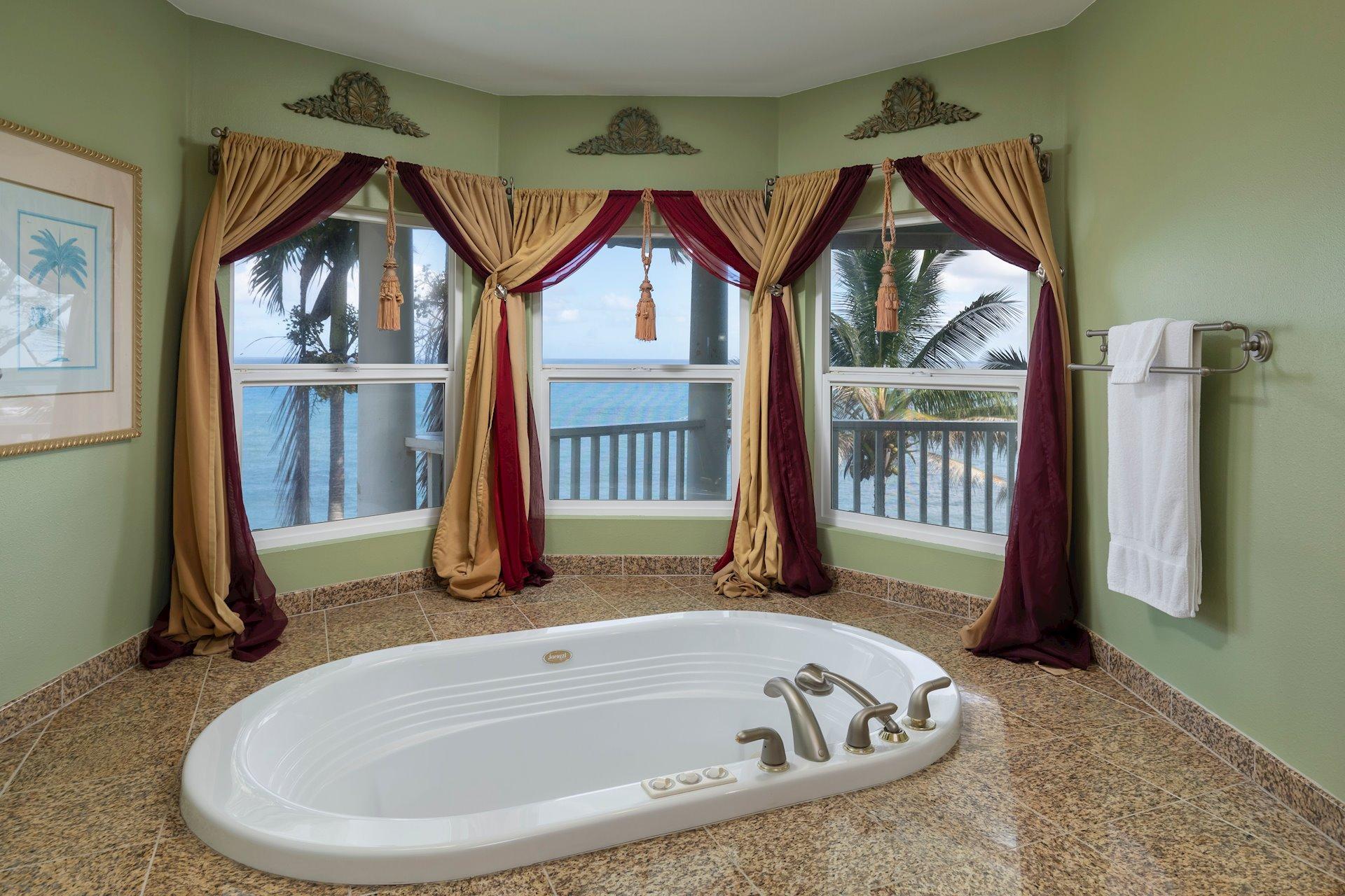 ...and elegant bathrooms.