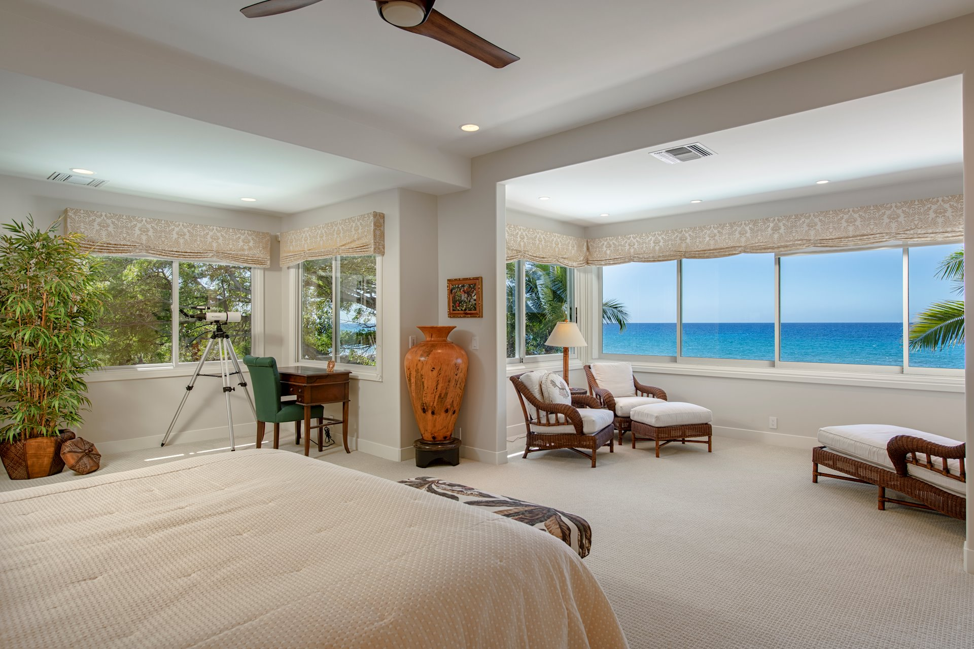 AMAZING VIEWS FROM MASTER AND JUNIOR MASTER SUITES