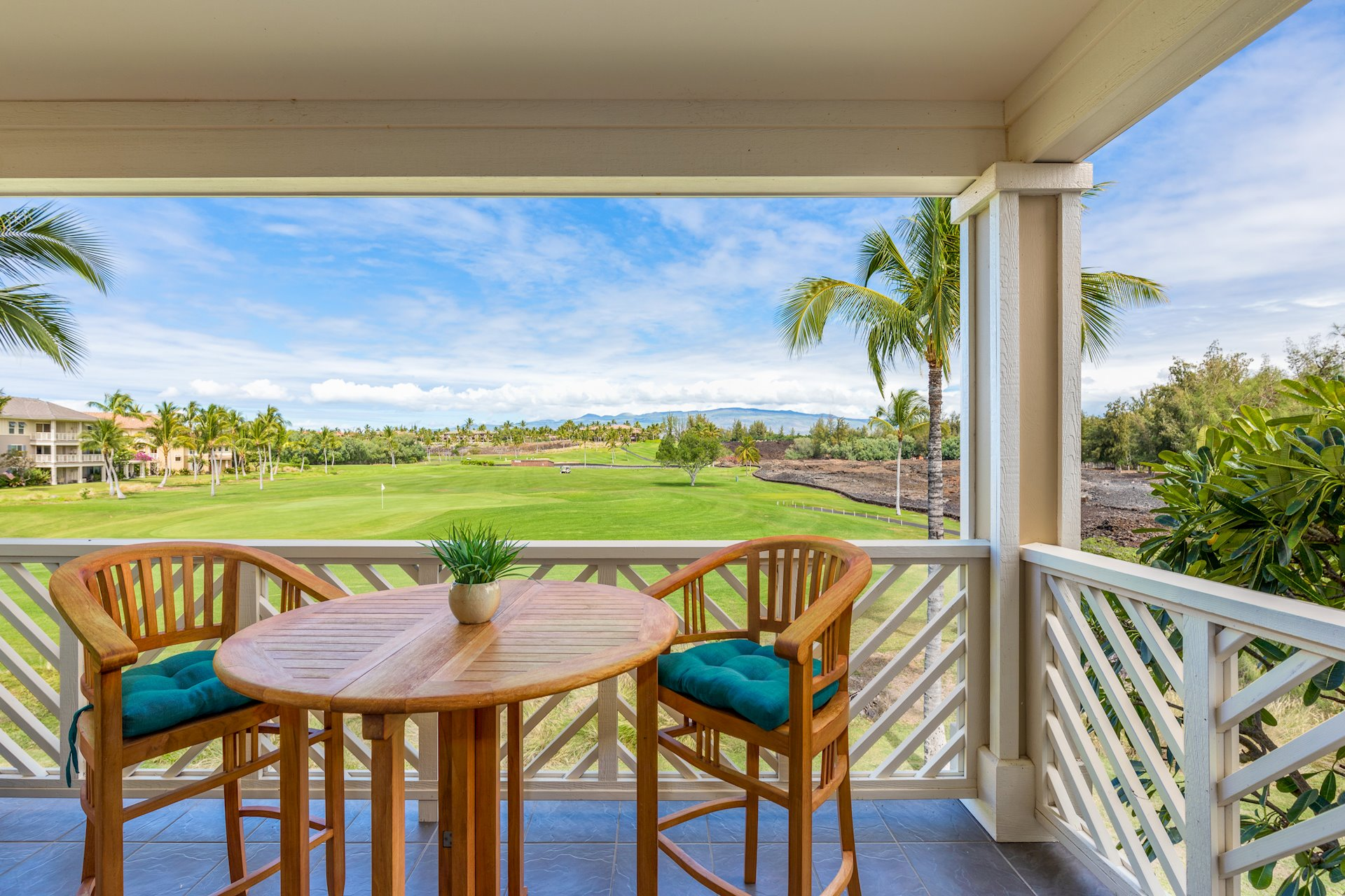 Enjoy the views from your lanai