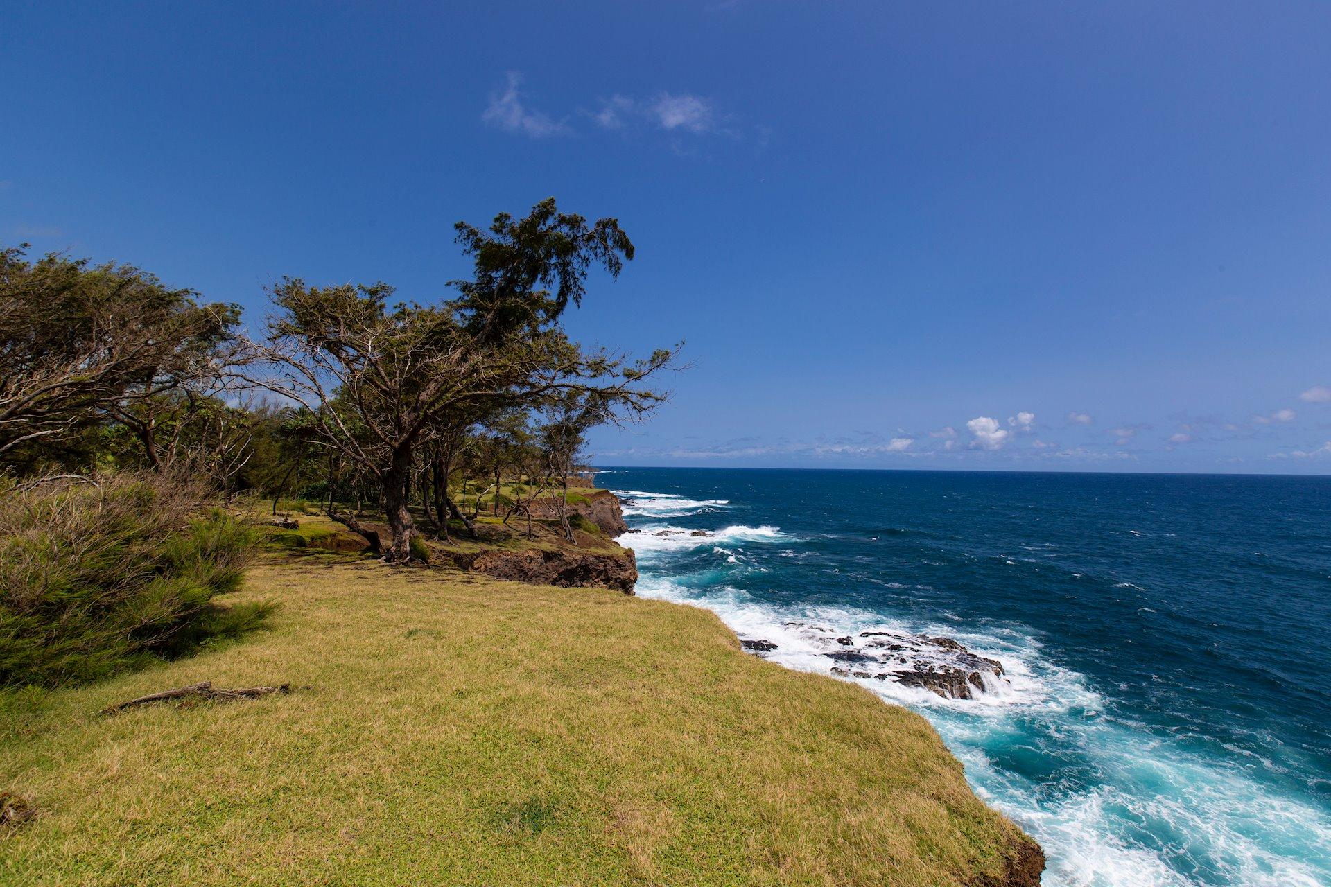Rugged coast line