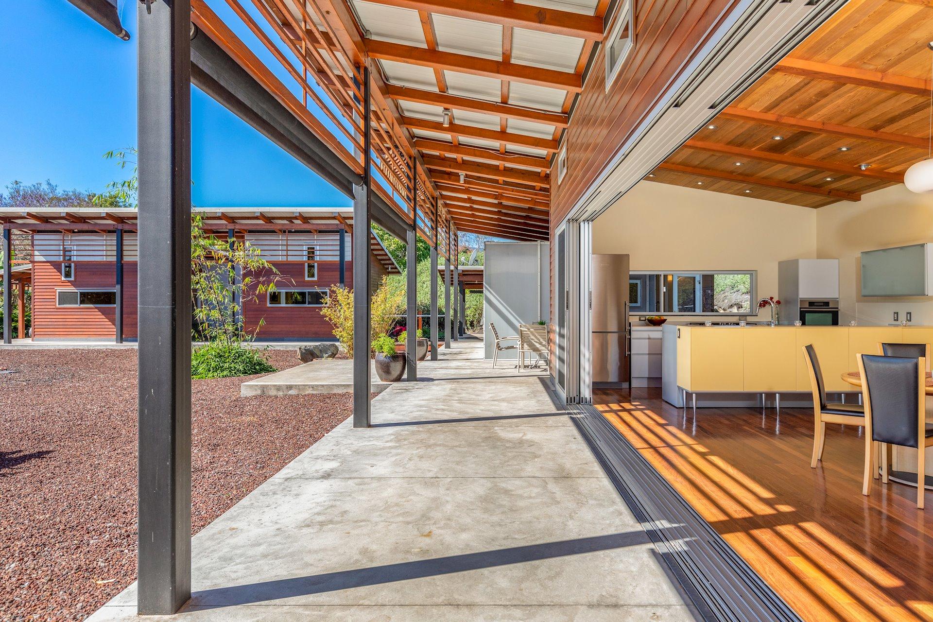 Open up the pocket doors for indoor/outdoor living