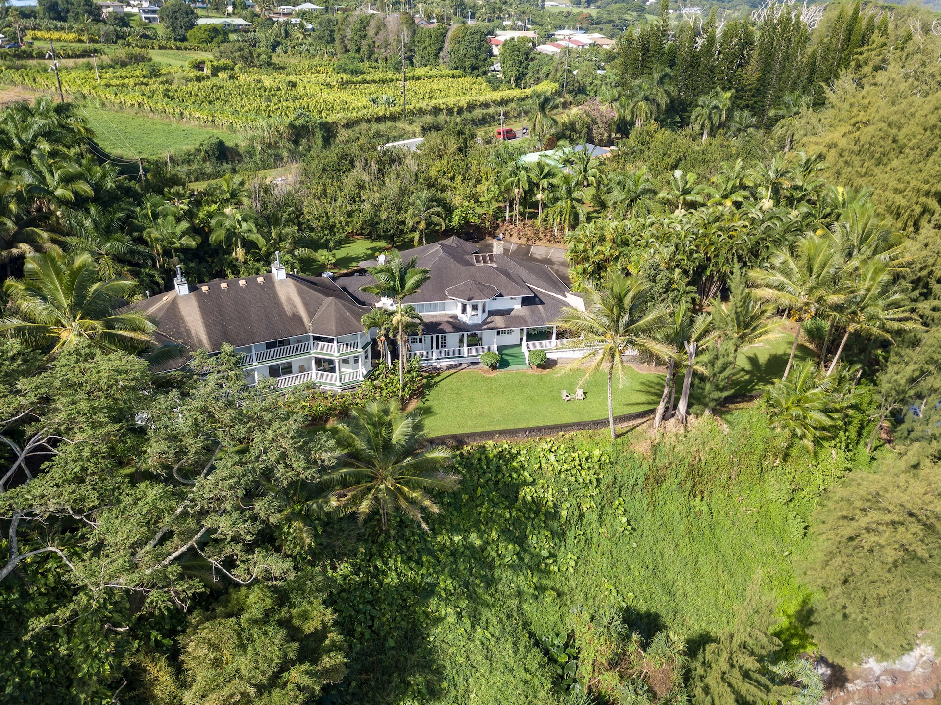 Architecturally speaking the property has resonating Plantation, Victorian and Old Hawaii era qualities.