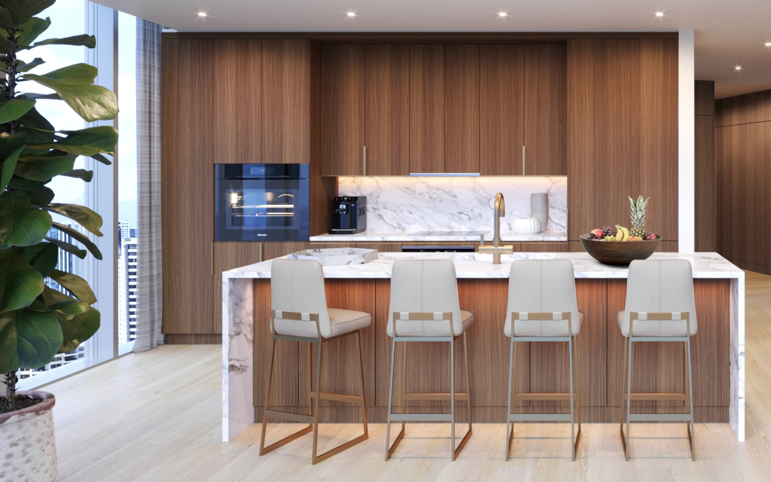 Construction will soon begin on this brand new Penthouse at The Ritz-Carlton Residence Waikiki Beach. This single level Penthouse on ...