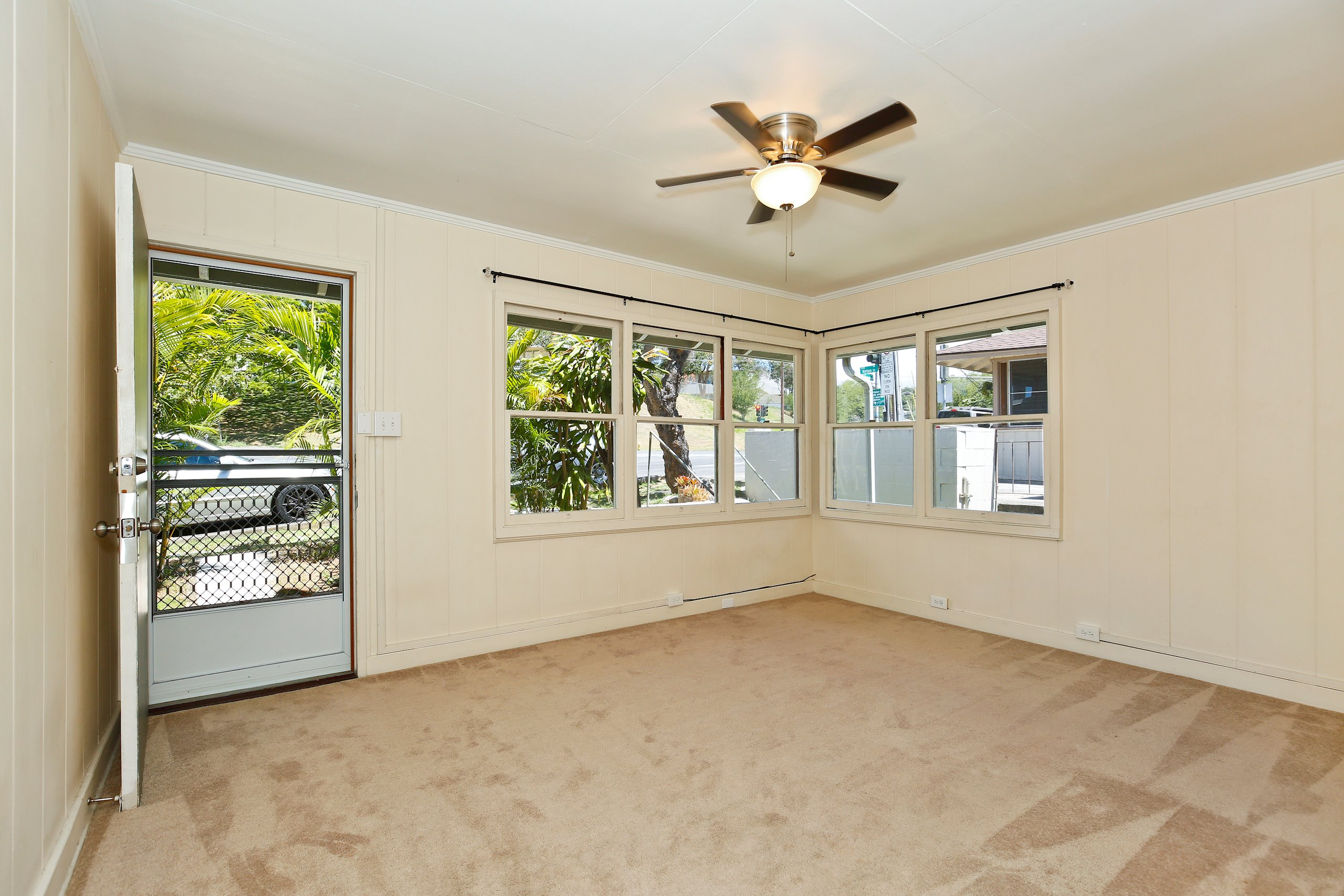 Excellent location with easy access to freeways, Downtown and schools including UH Manoa. Don't be fooled by the street frontage of the 2 lots which open up to a Mango tree canopy and spacious yard below. Some units have been recently remodeled. Stable rental income with well qualified tenants. Many fruit trees. Electrical and gas are separately metered for each unit. Lots of potential for development. List price is for both properties 1709 MLS 201914529 and 1715 MLS 201914533.