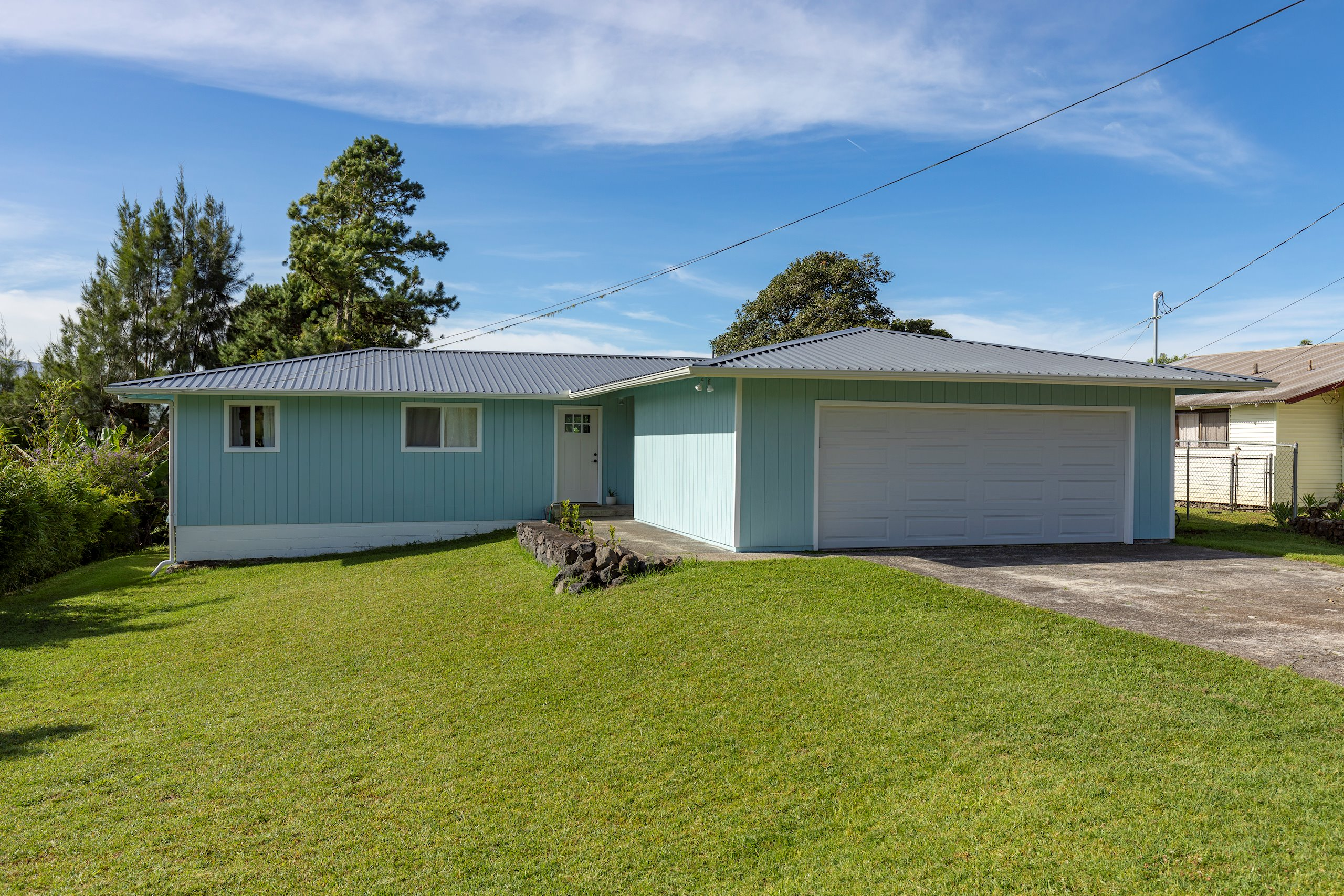 Conveniently located in Puu Nani, just 6 minutes from the heart of Waimea town, this stunning 3 bedroom / 2 bath has been recently remodeled! Updates include, but not limited to:<br>- New roof<br>- New paint inside and out<br>- All new flooring throughout<br>- Beautiful new T&G ceiling throughout<br>- Both bathrooms gutted and redone<br>- All new kitchen (cabinets, counter top, sink, appliances, etc.)<br>- Lanai has been rebuilt<br>- New water heater