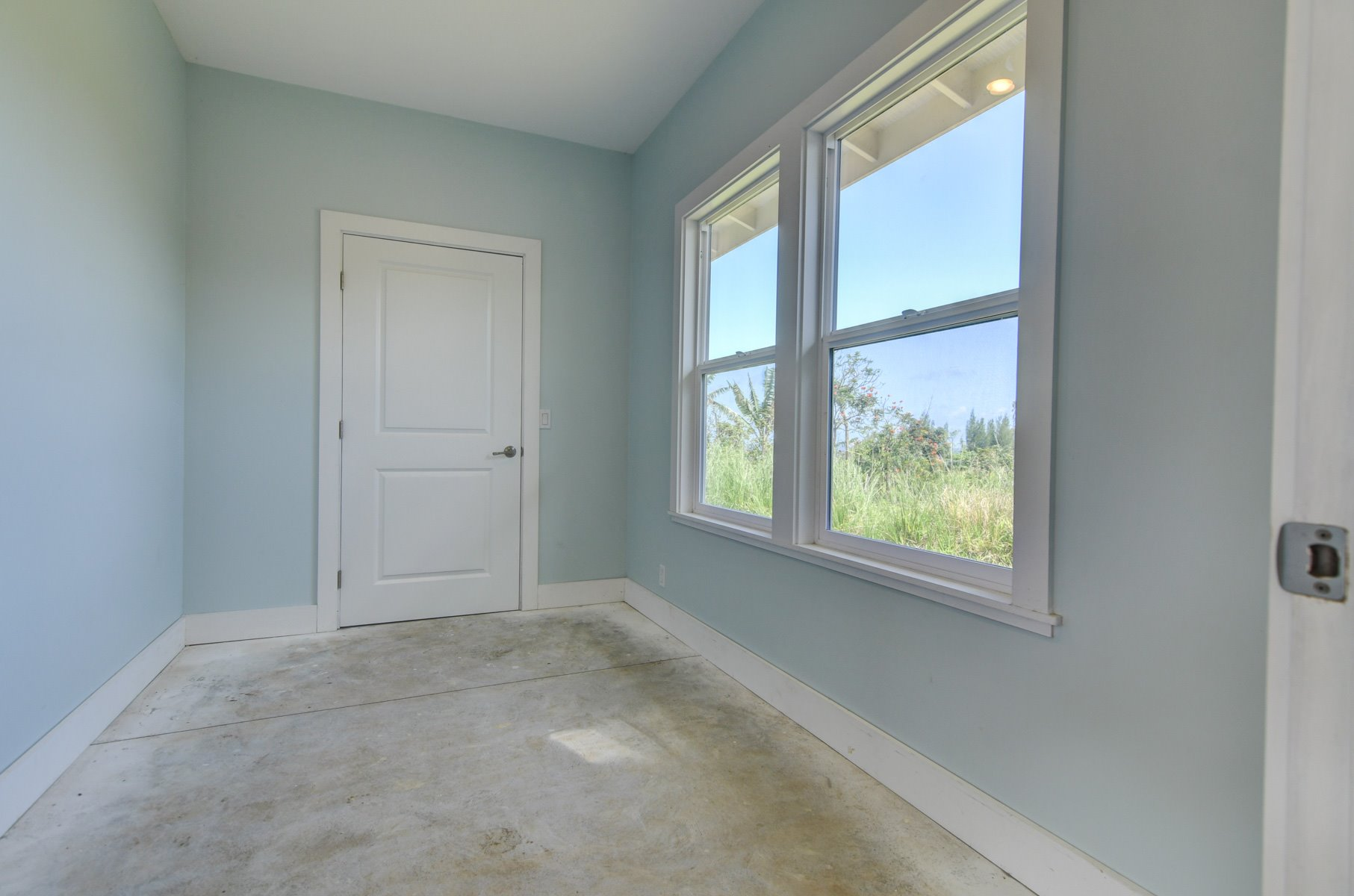 A side room located in garage. This room has an oceanview and would make for a perfect office
