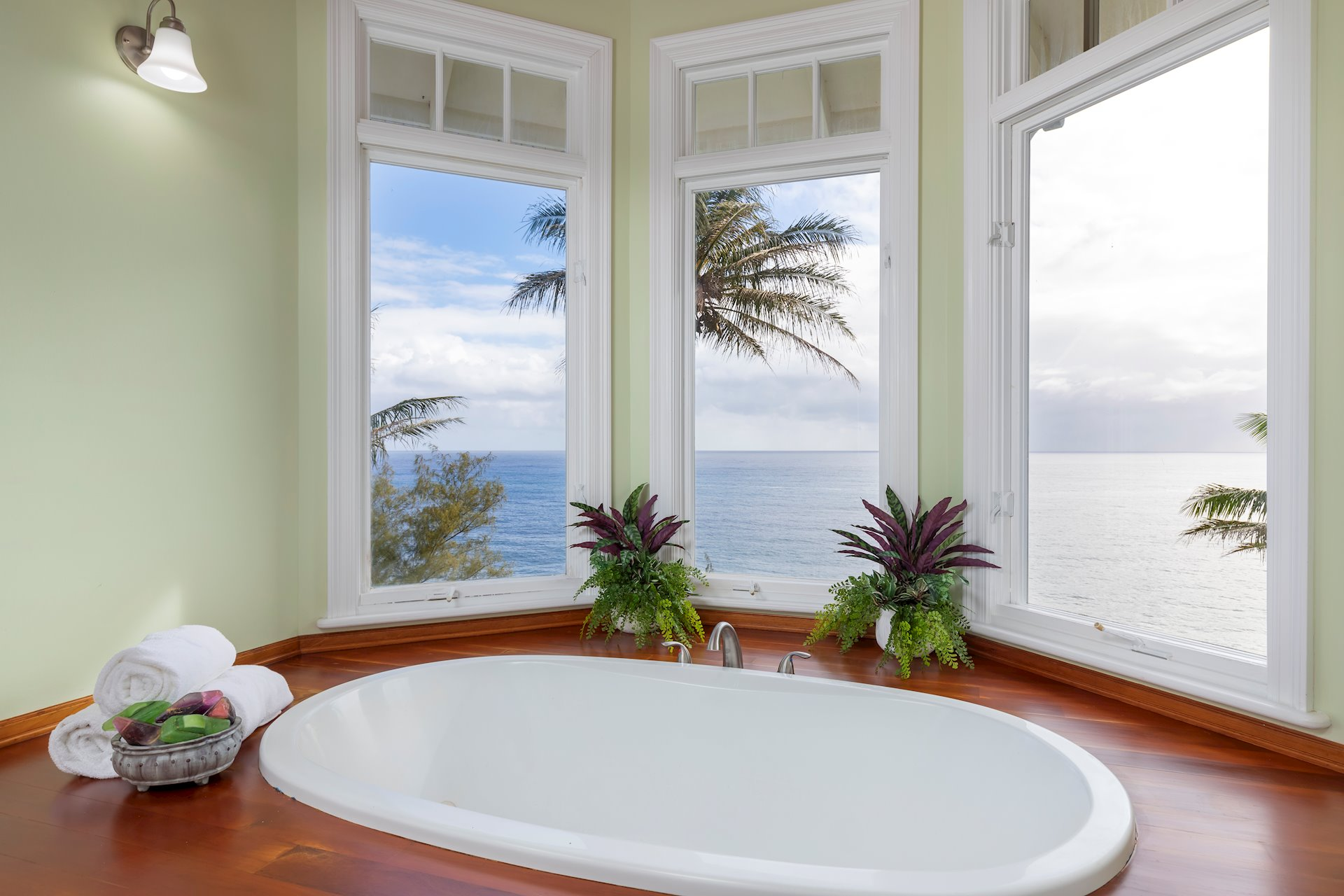 Views from the Master Bath.