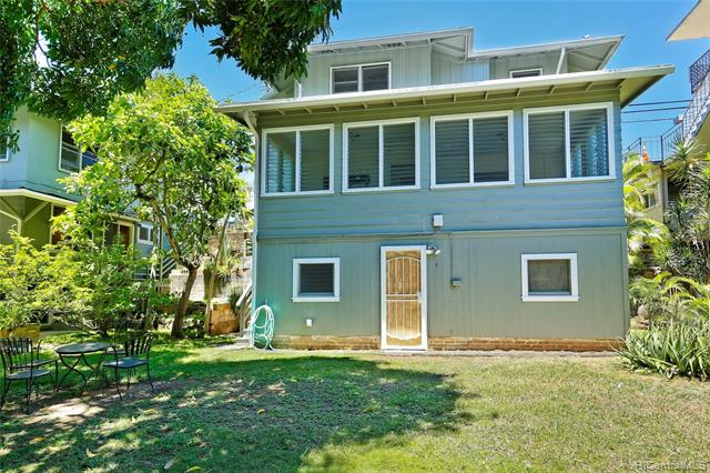 "Great opportunity! Prime location in Makiki! Don't be fooled by the street frontage because the spacious yard below leaves room for expansion. Live in the street level unit and rent out units below. 3 of the 4 units have been remodeled. Stable rental income with well qualified tenants. Electric and gas are separately metered for each unit. This desirable location is just minutes away from schools including UH Manoa, freeway entrance, downtown, restaurants and bus line. Sale price is below the ""Tax Assessed Land Value""!"