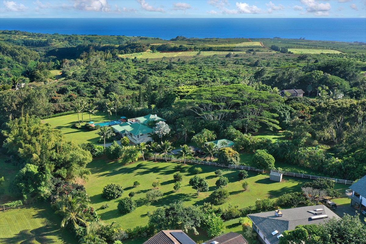 This stunning estate on Kauais southern shore offers features and benefits of the highest order.<br><br>Embark upon your own tree tun...
