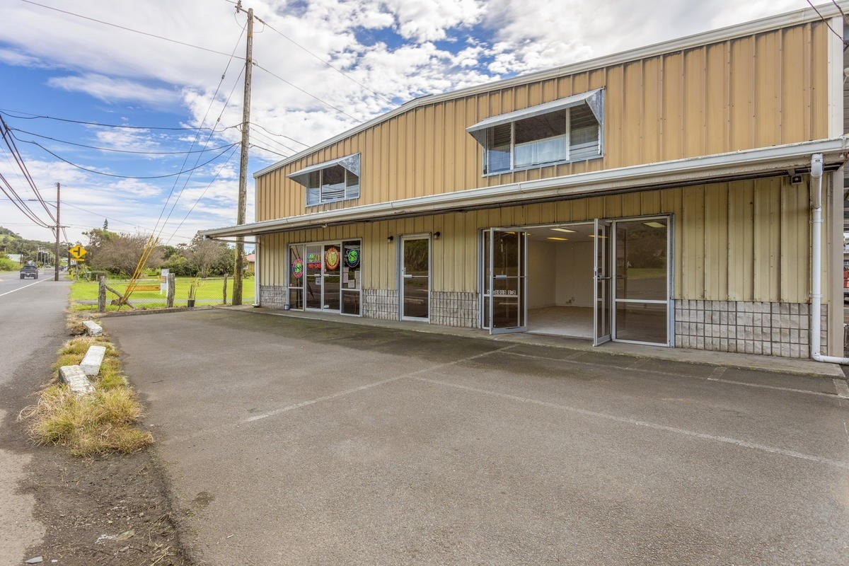 • 1 Acre of Neighborhood Commercial zoning (find permitted uses in this zoning at http://www.hawaiicounty.gov/lb-countycode. Chapter 25-5-102)<br>• Retail/apartments/industrial/warehouse<br>• Total of 2 commercial offices, 9 commercial bays, and 7 apartments.<br>• Highway frontage, great visibility, Plenty of parking<br>• Rare mixed use opportunity in Waimea with consistently high occupancy due to location<br><br>Sale includes TMK's 3-6-4-6-13, 3-6-4-6-14, 3-6-4-6-15(roadway lot)<br>Building 1; 6,200 sqft<br>                 4,000 commercial<br>                 1,100 offices<br>                 1,100 apartments<br>Building 2;  6,250 sqft<br>                 5,000 commercial<br>                 1,250 apartments<br>Building 3;  5,960 sqft<br>                 4,485 commercial<br>                 1,475 apartments<br>Totals: 18,410 sqft<br>Land; 43,555 sqft