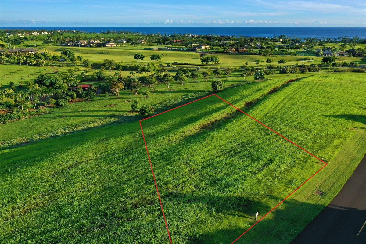 Lot 35 is within Kauai's finest luxury development, Kukui'ula, on the beautiful southern coast of the island.<br>Set within a designated opportunity zone, this gracious 27,601 square foot vacant land listing slopes gradually toward the orchard and pops views of the ocean, golf and mountain vistas beyond. <br>FEATURES AND BENEFITS OF THIS LISTING:<br>•    Full set of architectural plans for a 3,539 square foot home are available for the Buyer<br>•    Walking proximity to the Club at Kukui'ula <br>•    Ocean, white water, mountain, golf course, and orchard views<br>•    Immediate access and adjacency to the orchard out your back yard<br>•    Close to the Shops at Kukui'ula where many dining and shopping venues present<br>•    Vacation rental permissible for periods of 7 days or more. The listing is located within the Visitor Destination Area (VDA).<br>Enjoy the full benefits of club membership where activities, cultural experiences, and amenities meet the gold standard for excellence. From the 18 hole, Tom Weiskopf golf course to the spa, participation in club events, tennis, paths and farm, Kukui'ula delivers simply the best of Kauai. <br><br>* Lot lines reflected in images within the listing are approximate. See the plot plan for further accuracy.
