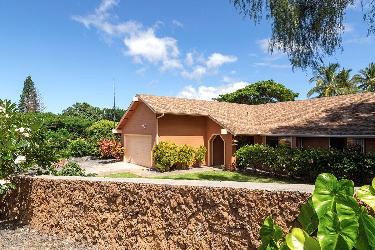 Located on a quiet cul de sac, this updated Waikoloa Village property offers so much both inside and out. This lovingly cared for home sits on an extremely private lot on a very quiet street comprised of just a few homes. As you approach the house, you'll notice the meticulous front yard with a rock wall. Through the front door is a very clean, well-maintained home with updated flooring throughout (wood laminate, tile, and new carpet). The kitchen has granite countertops, stainless steel appliances (including a convection oven) and is centrally located for easy access to the garage, family room, and dining area. There's even a bonus space that could be used for watching television, as an office/library or a game room and it has a pass-through to the kitchen! This is a great floor plan with good flow and a lot of storage throughout. There is plenty of natural light coming through the multitude of windows in the home and as you step out into the backyard, an oasis awaits! The large tiled/covered lanai allows for a great indoor/outdoor experience and the yard is VERY private. A large grassy area is perfect for family fun, there is a large garden area and mature trees provide complete privacy from the neighbors. The mature edible options from your backyard include oranges, tangerines, mangoes, and avocados. This home is being offered turnkey/furnished.  Make sure to view the virtual tour to see the best of this home!<br><br>Waikoloa Village is conveniently located within a few minutes to some of the best beaches on the island and the new shopping/dining center is scheduled to open in 2020!