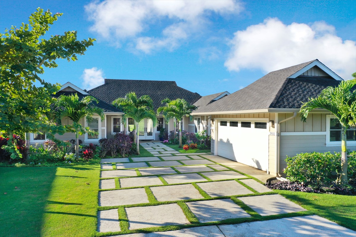 Move-in ready for you or vacation rental. Easy to view.<br>This 2,037 square foot single level home on Lot #51 within Wainani at Poipu enjoys southwest facing views across the 6th fairway of the Kiahuna Golf Club. The home is immaculate, providing for 3 bedrooms and a separate study. From the expansive great room, the lanai doors open wide to a fully covered space that runs the entire width of the home.<br><br>Features of this home include:<br><br>* 3 bedrooms<br>* Office<br>* 3.5 baths<br>* Zoned air-conditioning<br>* Master suite includes outdoor and indoor showers<br>* Great room<br>* Laundry room<br>* Pantry<br>* Detached 2 car garage<br>* Covered golf course facing lanai<br>* Fully insulated <br>* Tankless gas hot water<br>* Underground utilities<br>* Presidential asphalt shingle roof<br>* Vaulted Ceiling<br>* Stained wood trim throughout<br>* Wood cabinets and high-level countertops<br>* Fleetwood and Milgard dual paned sliding doors<br>* Milgard dual paned windows <br>* Make this home your permanent home or vacation rental<br>* Assume the remainder of the Seller's 10 year home warranty<br>* Low monthly HOA dues<br><br>The list goes on. This listing is unique and ready for you to enjoy.<br><br>While square footage is obtained through County records, it is approximated and not guaranteed and should be verified by the buyer.