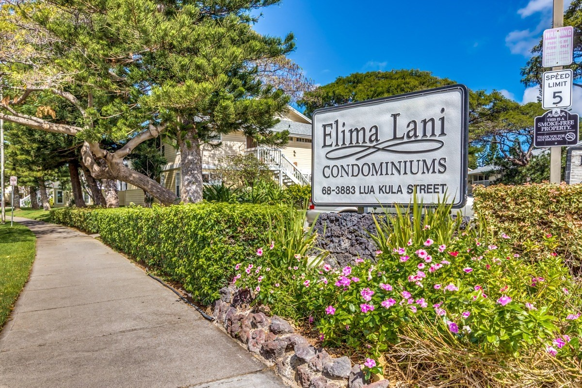 Fantastic opportunity to own in Elima Lani! This 2 bedroom, 2 bath ground floor corner unit. This complex offers very low monthly HOA dues $350.00 a month. Waikoloa Village Association dues $840.00 a year,  joining is mandatory and includes a solar heated lap pool, two tennis courts, driving range, discounted golf with a cart.<br>Some upgrades to include:<br>~ Tile flooring throughout<br>~ Brand new stackable washer and dryer (November 2019)<br>~ Newer Formica kitchen countertop (May 2019)<br>~ Upgraded ceiling fans<br>The assigned parking stall is 227. One of the very few complex's that allows pets upon approval. Brand new shopping plaza coming soon and is set for completion in October 2020. Within walking distance to Waikoloa Highlands that offers supermarket/pharmacy, gas station, mailbox etc, an award-winning Italian restaurant, hair salon, massage & facials, eye doctor, doctor/dentist, coffee cafe, food court, and bank. Coming soon a Veterinarian!<br>Tenant occupied, the unit is currently being rented for $1800 a month. The lease expires on May 23, 2020 tenant would like to stay for the remaining amount of days of the lease. This unit can use some TLC, but has some great potential! Inventory is at an all-time low, don't wait too long if you are a serious buy!!