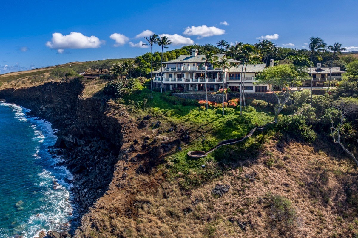 "Hale O' Kohola, ""Home of the Whale"".  This amazing resort like property perched on a cliff at Puakea Bay, North Kohala,  located in t..."