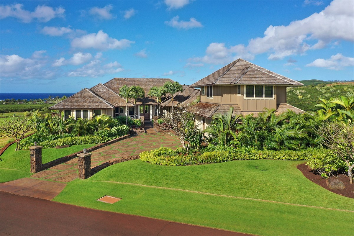 The distinct Kukuiula Mauka Neighborhood, known for its incomparable birds eye ocean, coastal and sunset perspectives, is the setting...