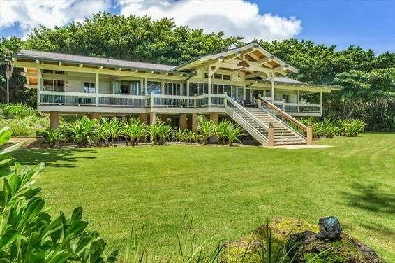"Haena Makana ""The Gift""<br>Exquisite Garden Isle haven in the heart of Haena.  Designed and developed by film and television stars Cr..."