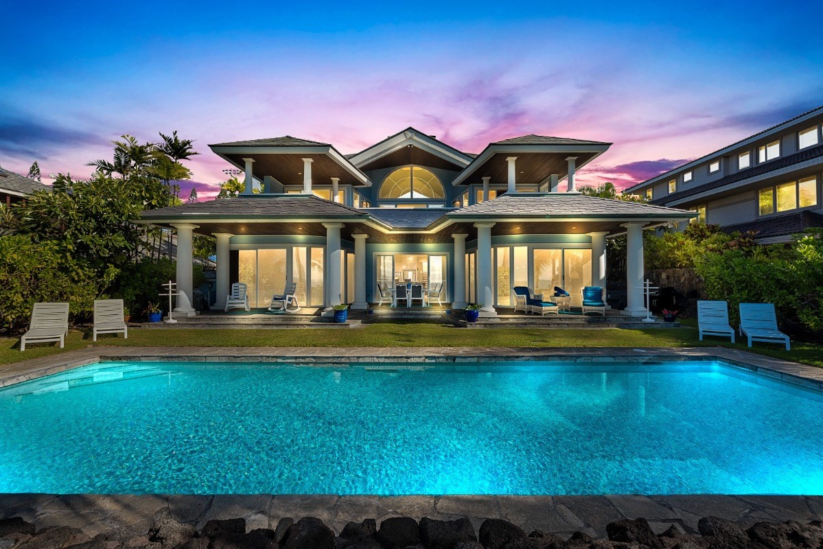 The moment you enter Kona Blue, located on the majestic Kona Coast, youll be mesmerized by the ocean views, tranquility, and outstand...