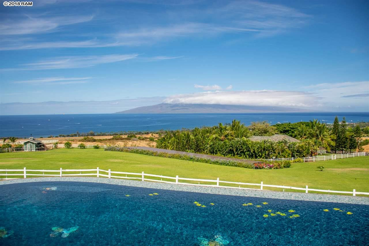 Gracing the slopes of the West Maui Mountains this estate is one of the top properties in Hawaii. Built with the classic plantation d...
