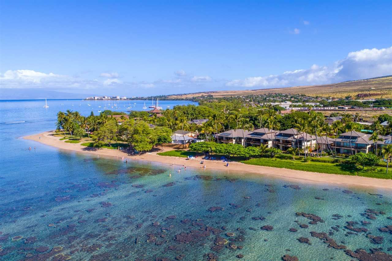 High-end, beachfront, vacation-rental condo in the heart of Lahaina. Pu'unoa Beach Estates is a boutique condo community that rests d...